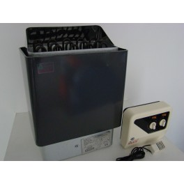 SAUNA HEATER 9KW с външен контролен панел